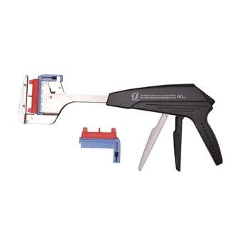 Линейный сшивающий аппарат с двойной рукояткой
