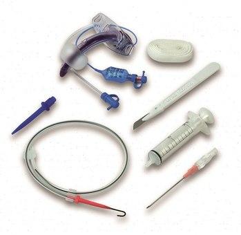 Наборы для трахеостомии по методике Григгса™ с санацией BLUE LINE ULTRA без зажима