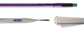 Одноразовая ручка-держатель с движковым переключателем модифицированным электродом и тубусом (Арт. ACE36H)