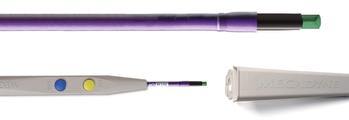 Одноразовая ручка держатель с кнопочным переключателем модифицированным электродом и тубусом (Арт. ACE37H)