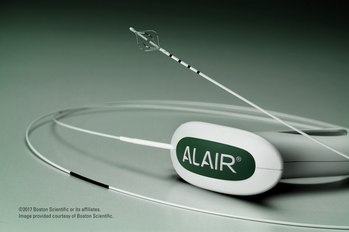 Система Alair для лечения бронхиальной астмы
