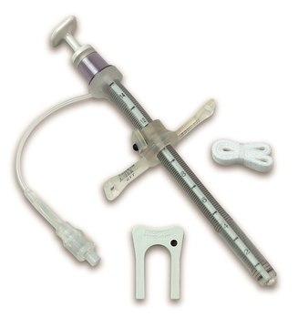 Трахеостомическая армированная трубка BIvona с манжетой TTS и регулируемым фланцем