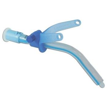 Трубки трахеостомические Blue Line без манжеты и c регулируемым фланцем
