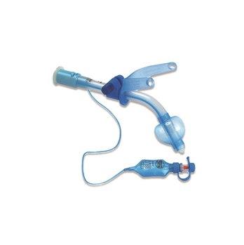 Трубки трахеостомические Blue Line Ultra с манжетой и регулируемым фланцем