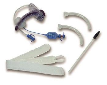 Трубки трахеостомические Blue Line Ultra с санацией и канюлями