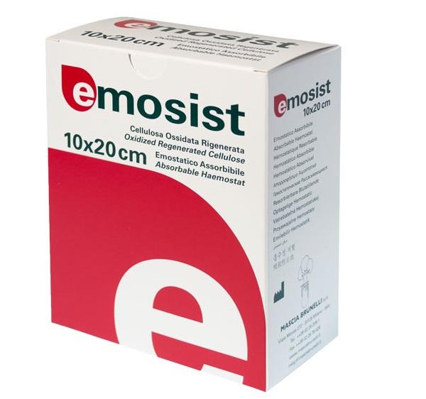 Гемостатический материал Emosist 10х25